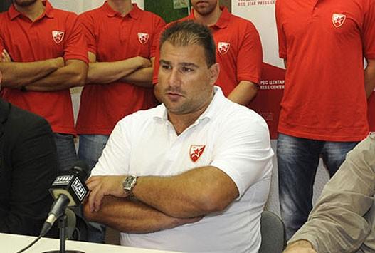 Dejan Savić trener Crvene zvezde i selektor juniorske reprezentacije