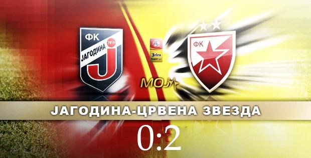 Jagodina - Crvena zvezda 0:2