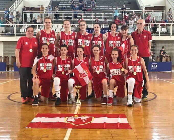 Pionirke šampionke Srbije
