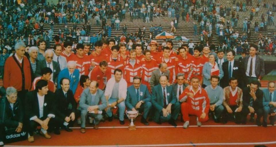 Atletičari Crvene zvezde koji su osvojili titulu šampiona Evrope